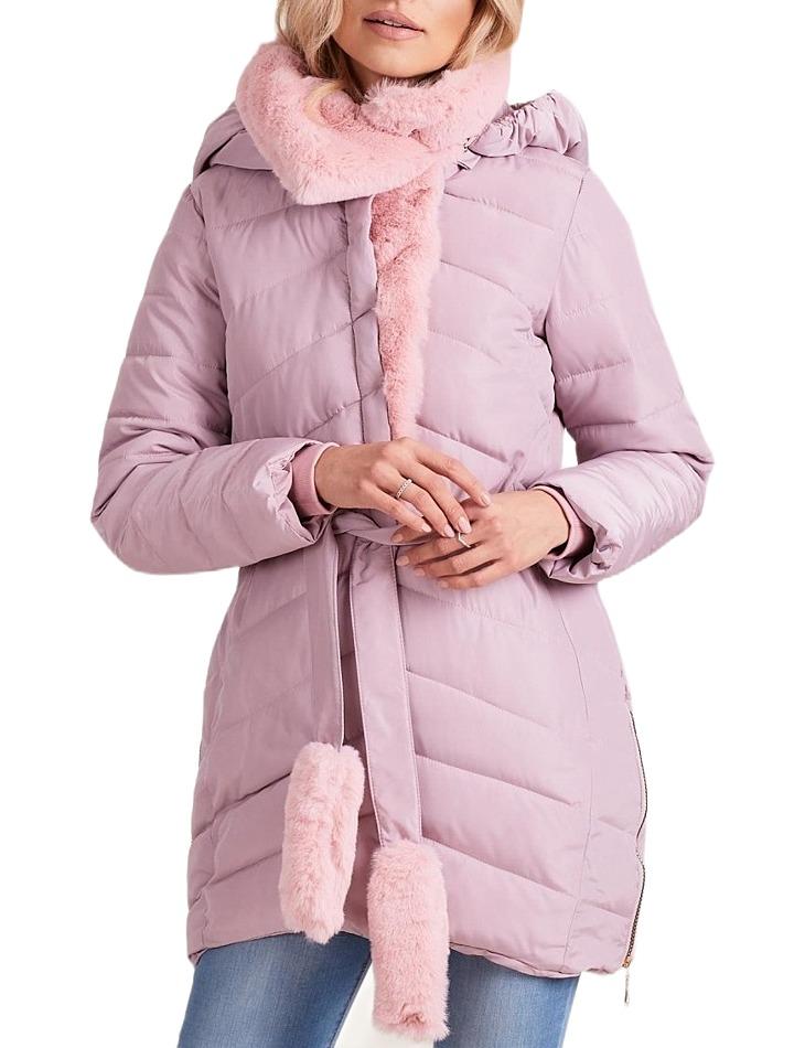 Dámska zimná ružová bunda vel. S