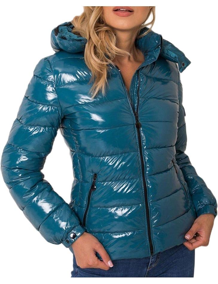 Dámska modrá bunda vel. M