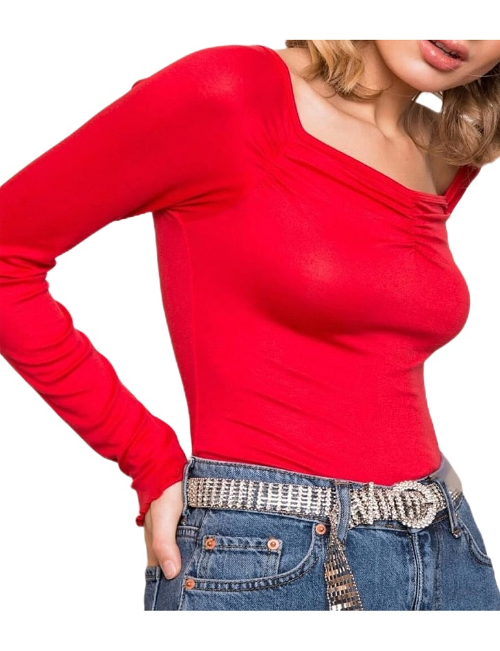 Dámske červené tričko vel. XS