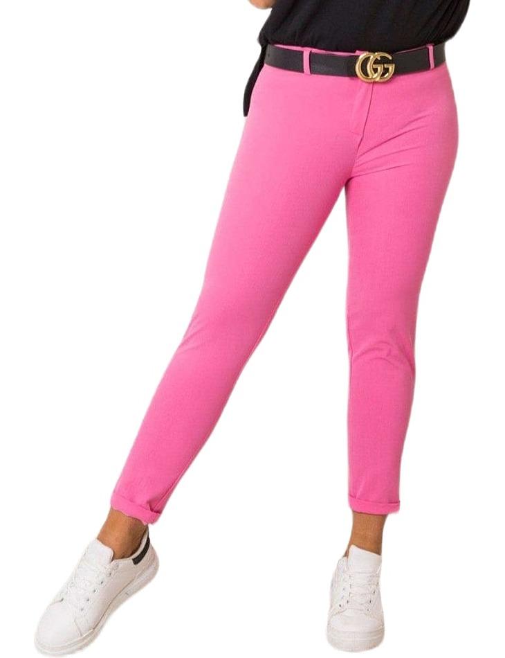 Ružové dámske nohavice vel. 40