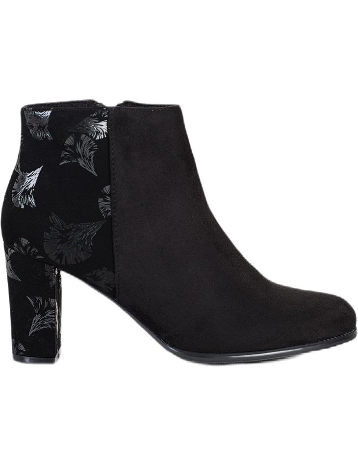 čierne dámske členkové topánky vel. 36