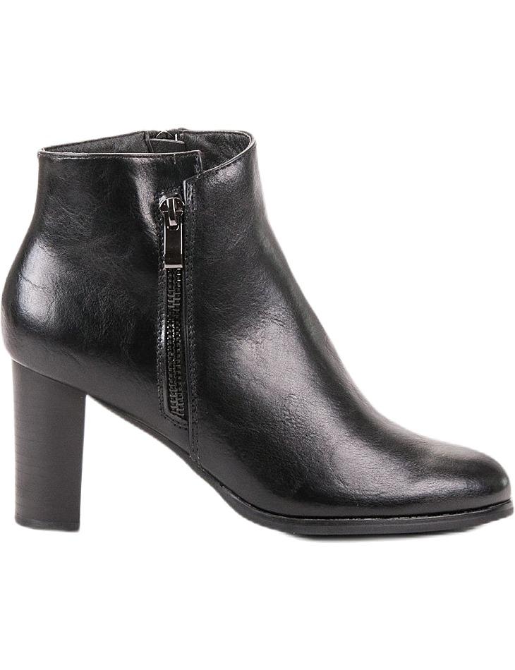 čierne topánky na podpätku vel. 39