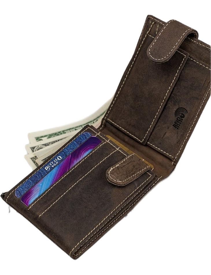 Buffalo wild pánska peňaženka - hnedá vel. univerzální