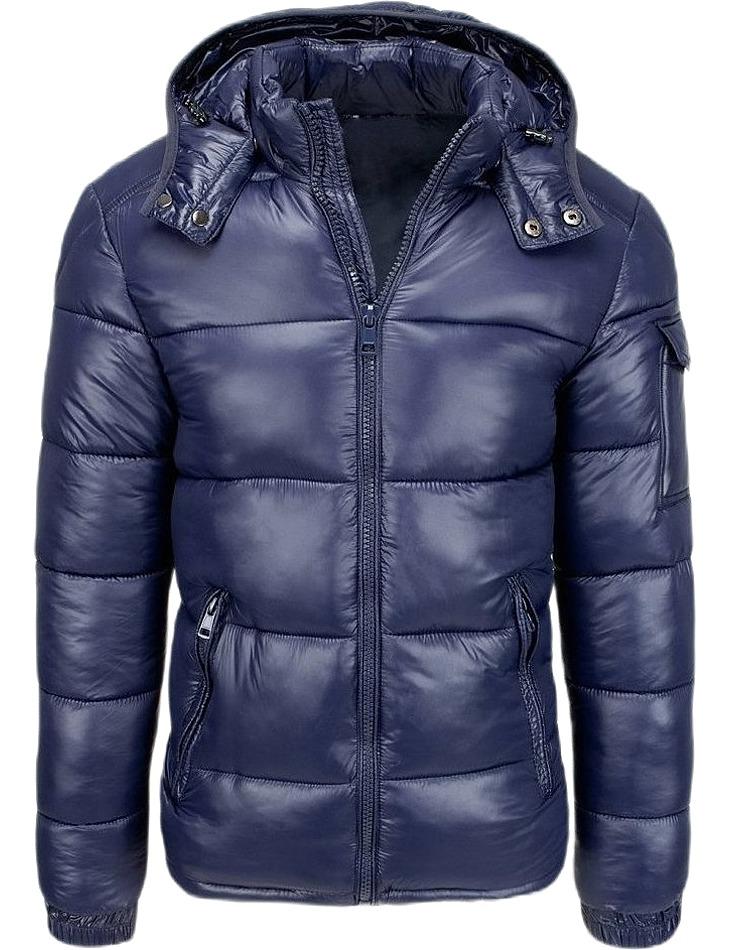 Granátová prešívaná bunda vel. XL