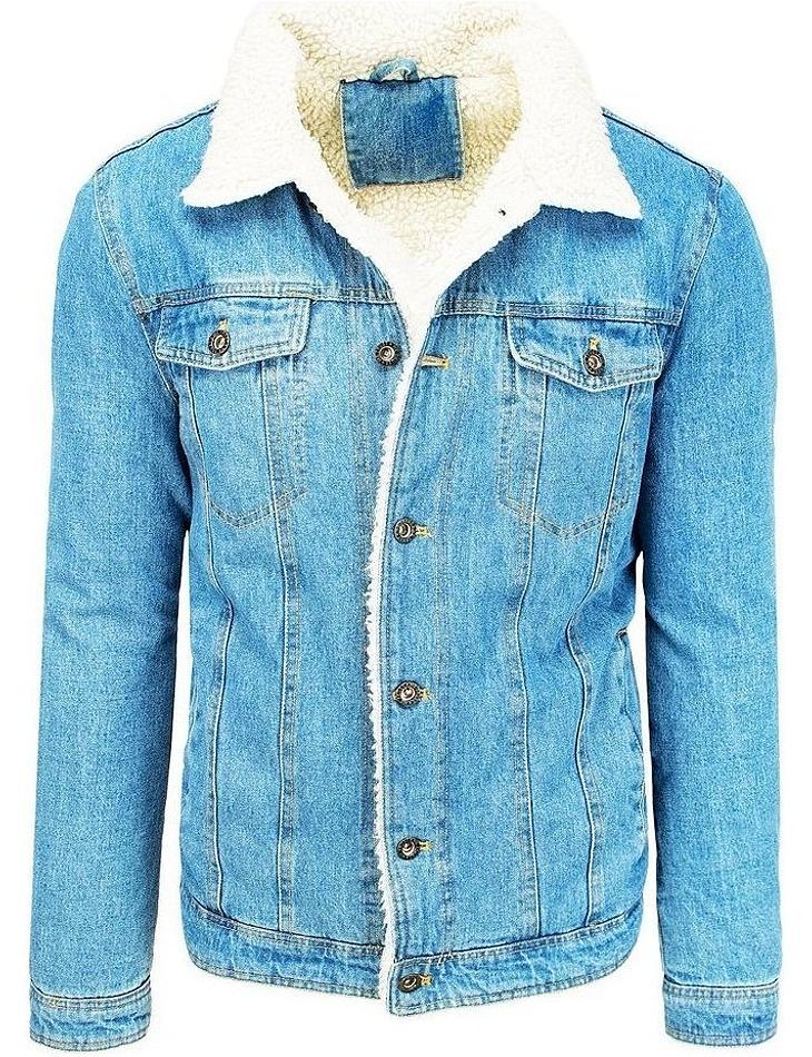 Svetlo modrá pánska džínsová bunda vel. M