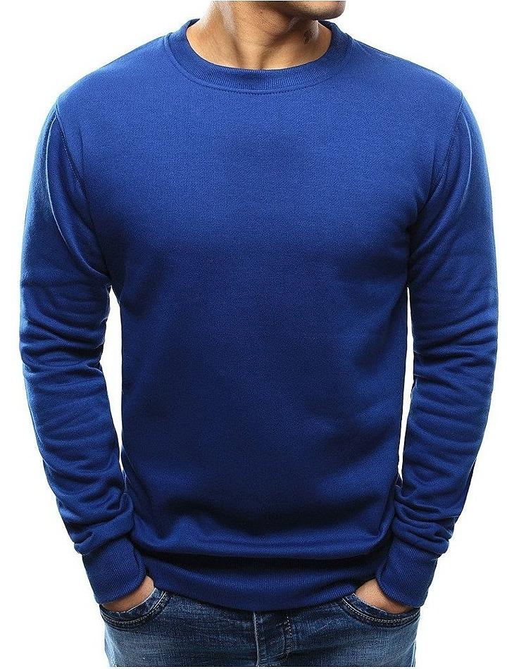 Basic mikina - modrá vel. XL