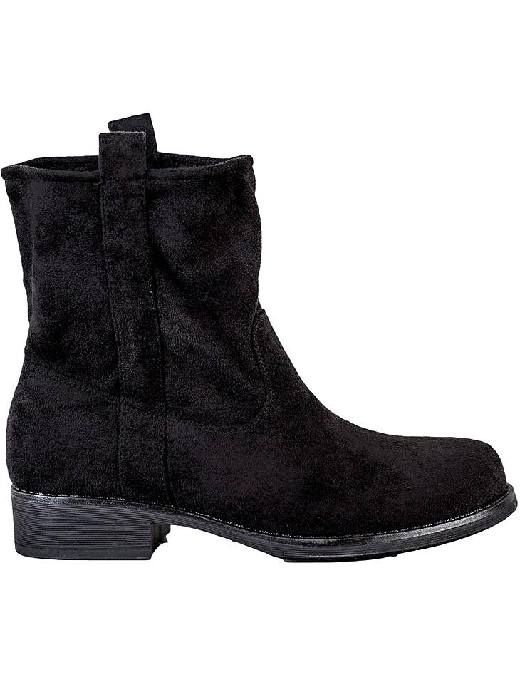 čierne dámske členkové topánky vel. 38