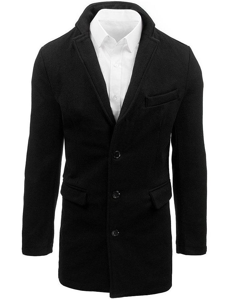 čierny pánsky kabát vel. 2XL