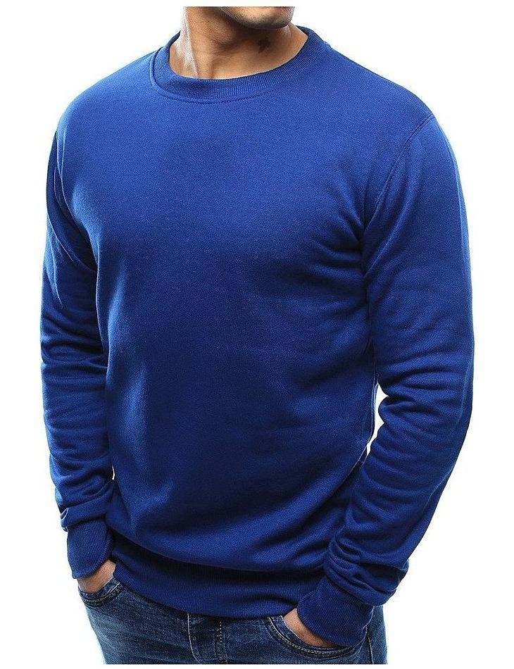 Basic pánska modrá mikina vel. XL