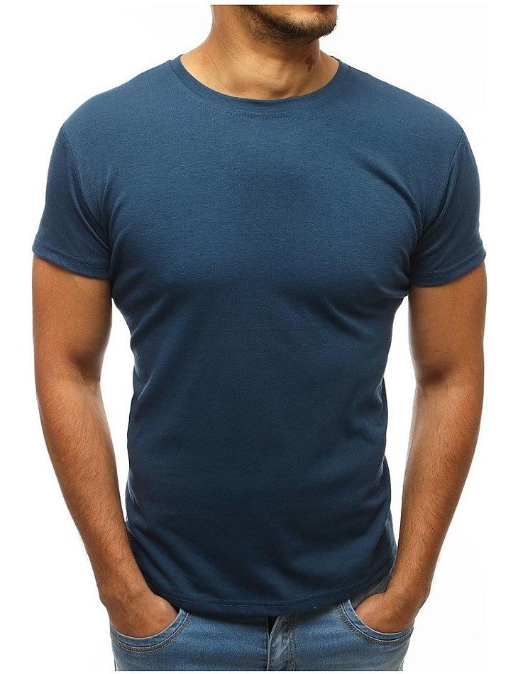 Pánske tričko tmavo modré vel. 2XL