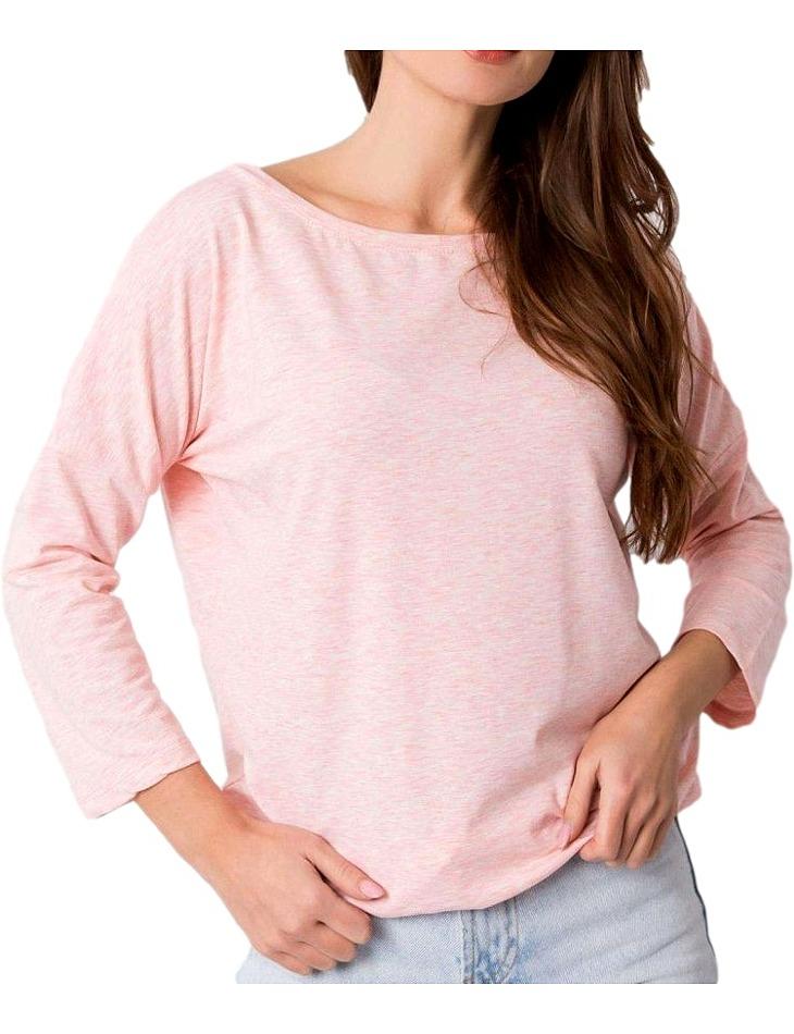 Svetlo ružové dámske tričko vel. M