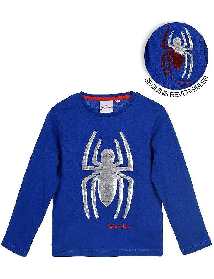 Spider-man - modré chlapčenské tričko vel. 104