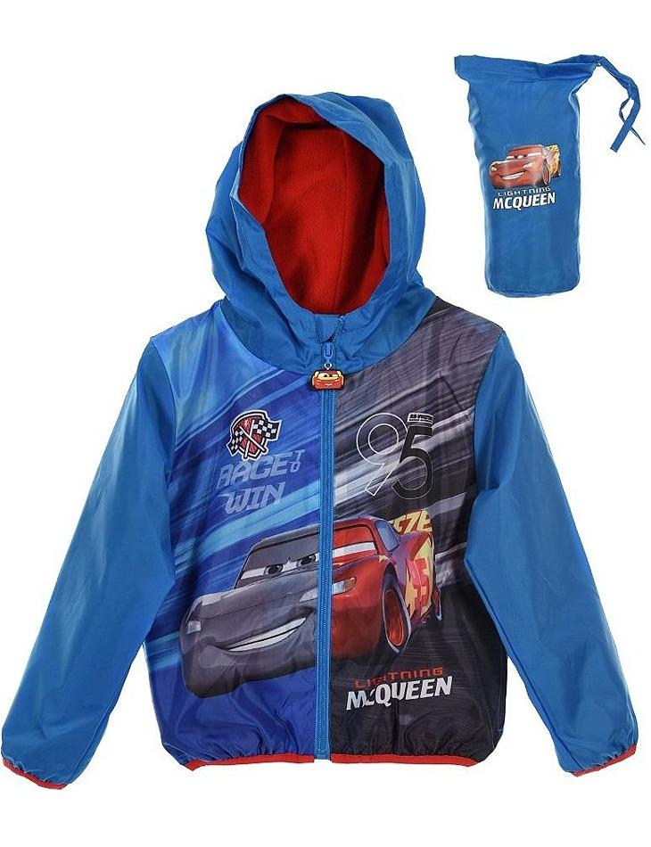 Modrá chlapčenská vetrovka disney cars vel. 128