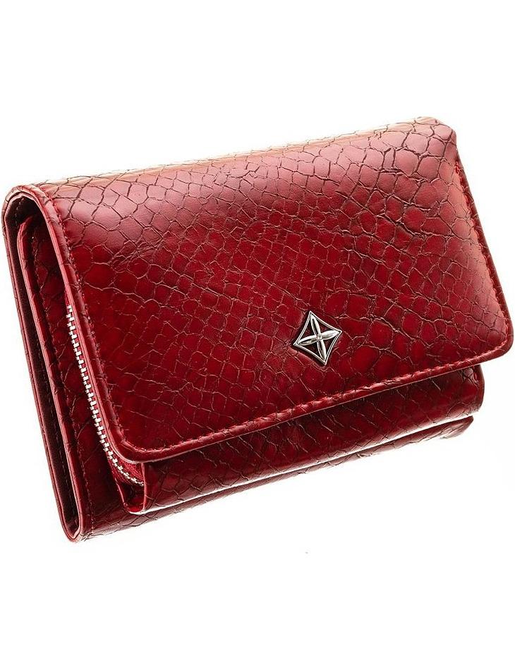 Milano dizajn červená dámska peňaženka vel. ONE SIZE