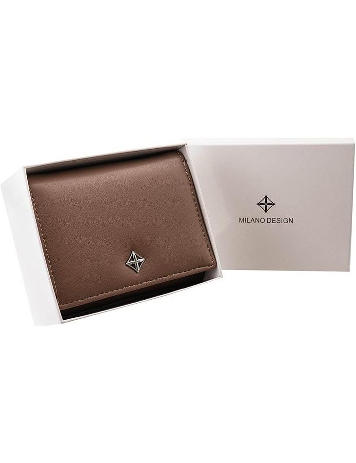 Milano dizajn hnedá dámska peňaženka vel. ONE SIZE