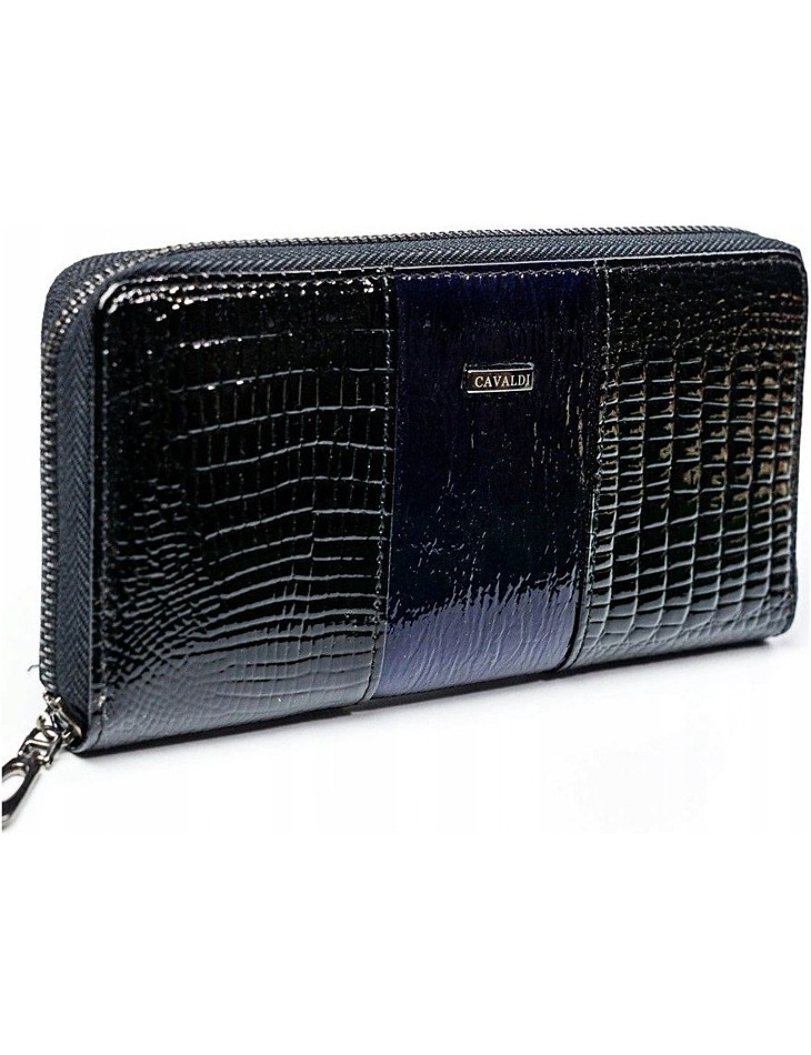4u cavaldi čierno-modrá peňaženka vel. ONE SIZE