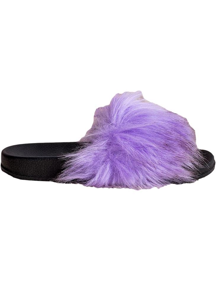 Fialové štýlové papuče vel. 39