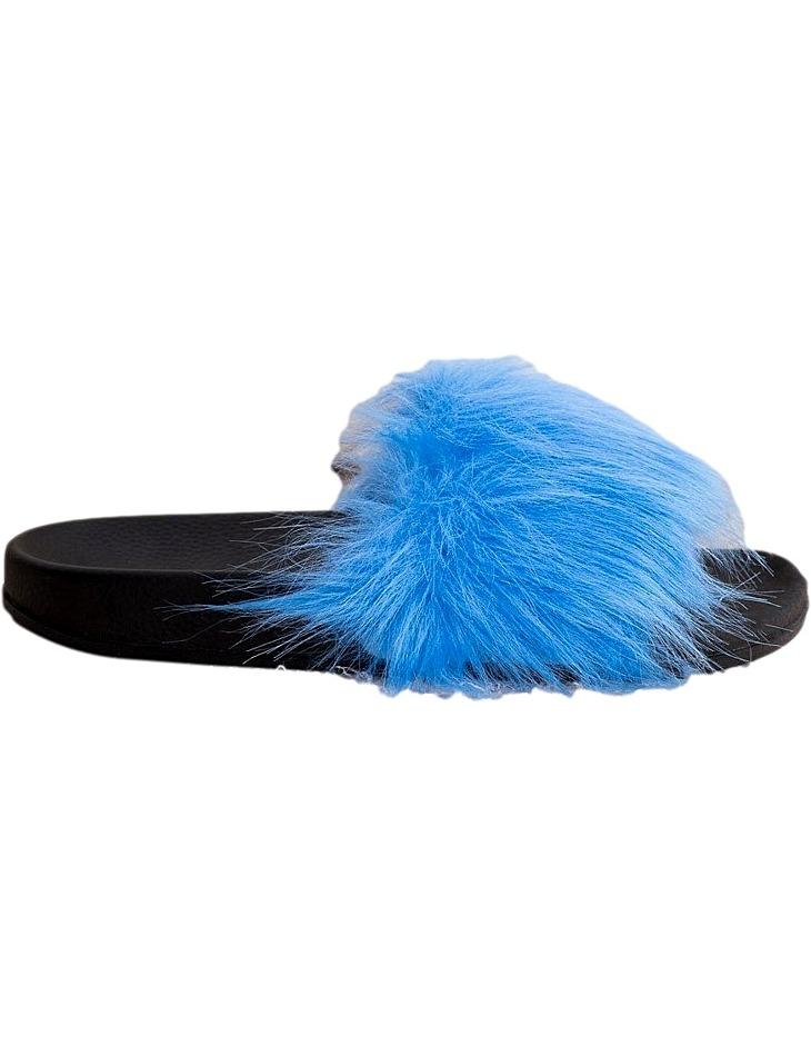 Modré štýlové papuče vel. 39