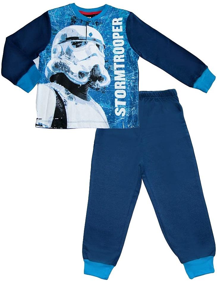 Chlapčenské modré star wars pyžamo vel. 104