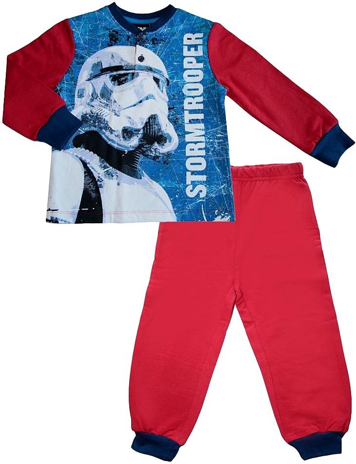 Chlapčenské červené star wars pyžamo vel. 116