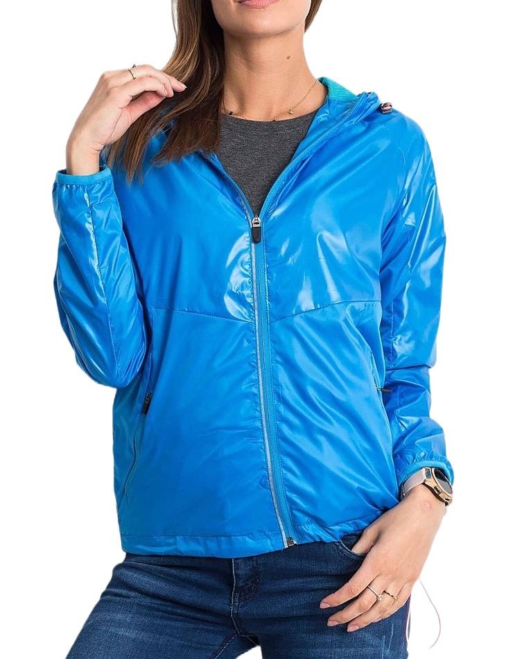 Dámska modrá bunda vel. 2XL