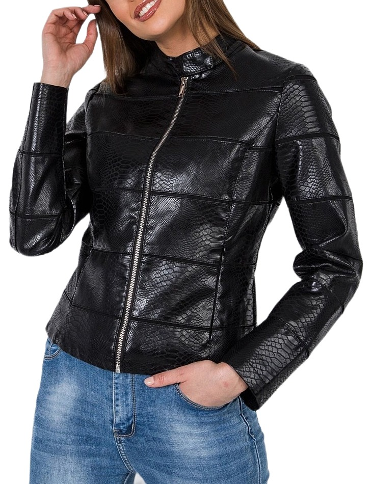 Dámska čierna bunda vel. M