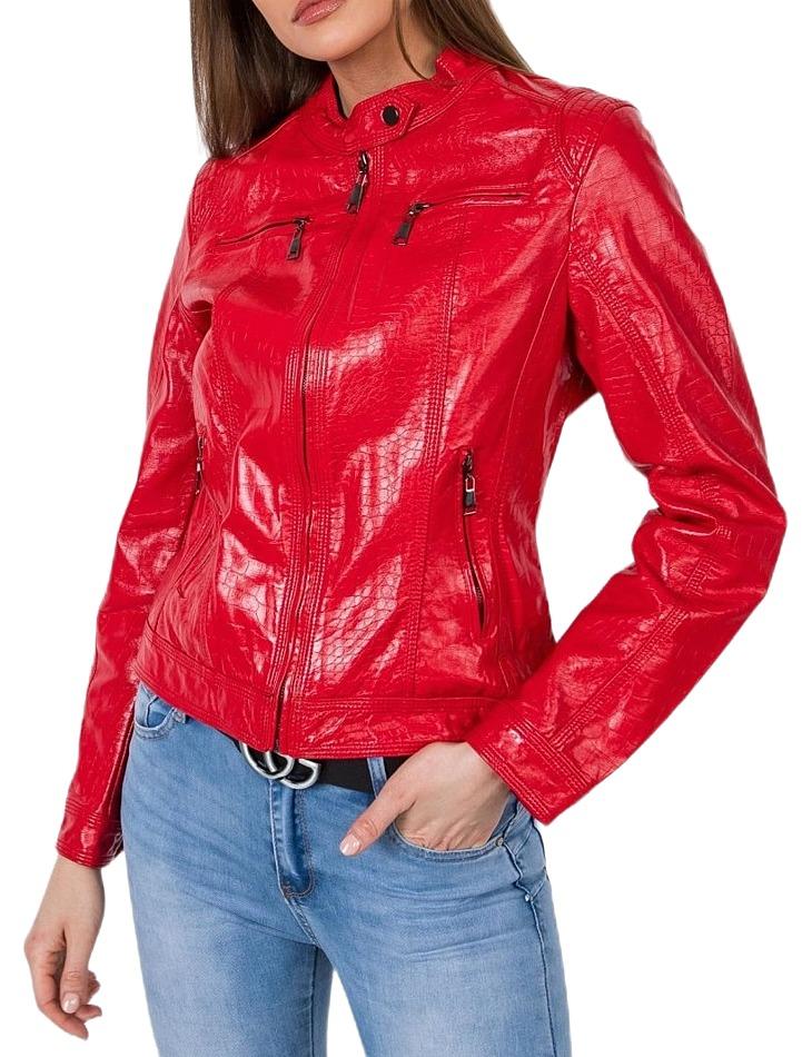 Dámska červená bunda vel. XL