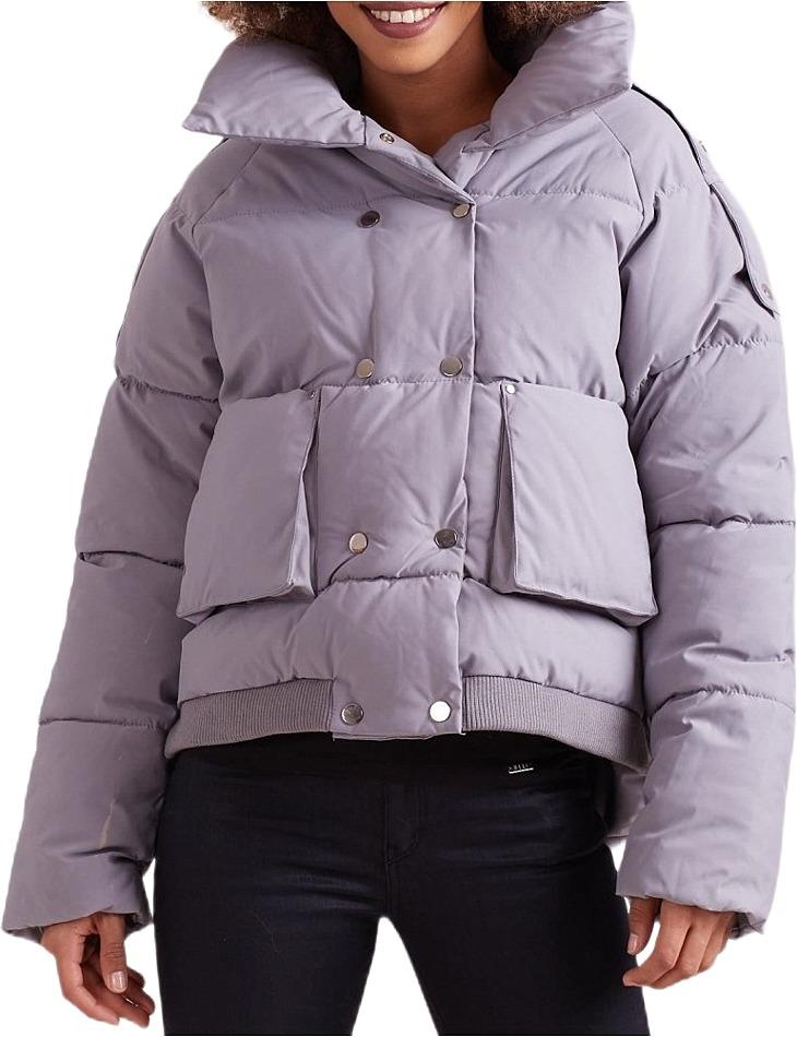 Dámska zimná šedá bunda vel. 2XL