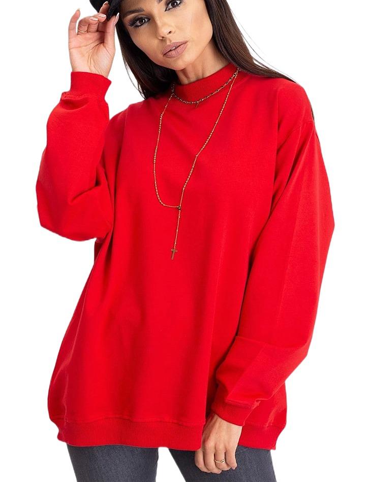 Dámska červená mikina vel. L/XL