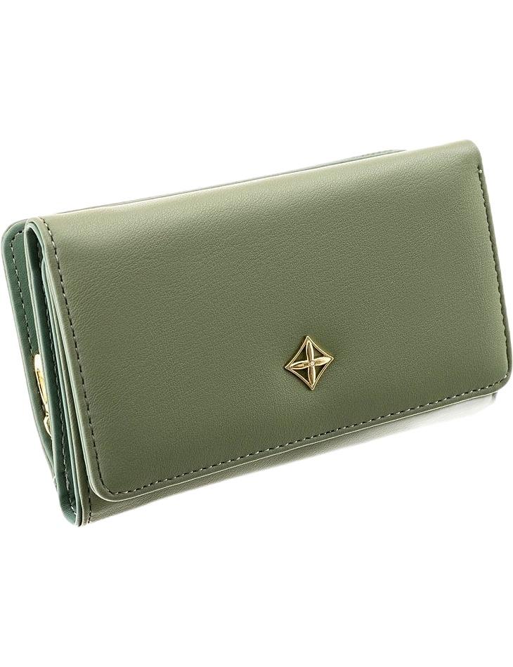 Milano dizajn zelená dámska peňaženka vel. ONE SIZE