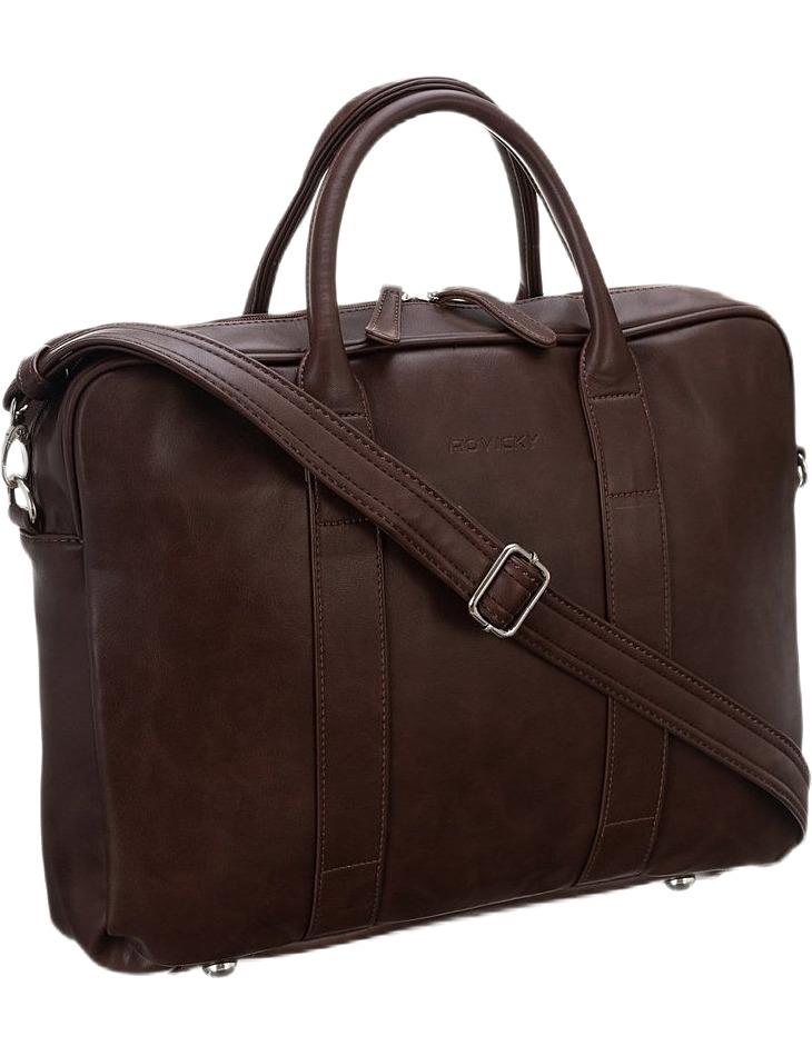 Rovicky hnedá pánska taška na notebook vel. ONE SIZE