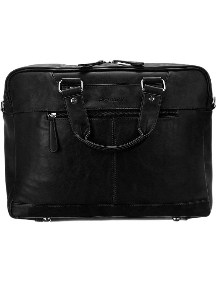 Rovicky - čierna pánska taška na notebook vel. ONE SIZE