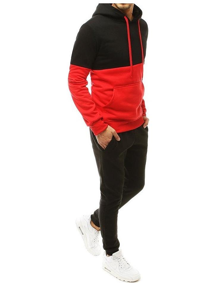 čierno-červená súprava pre mužov vel. M