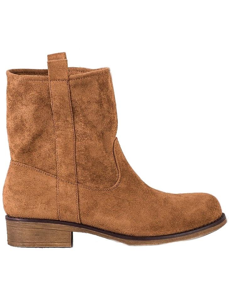 Hnedé dámske členkové topánky vel. 38