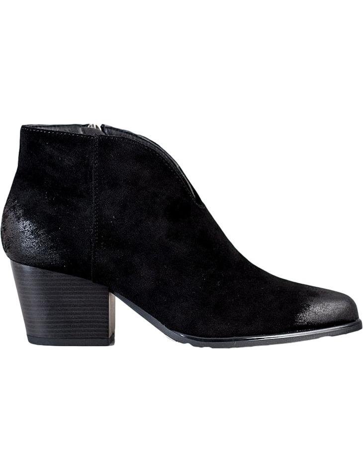 čierne nízke členkové topánky vinceza vel. 37