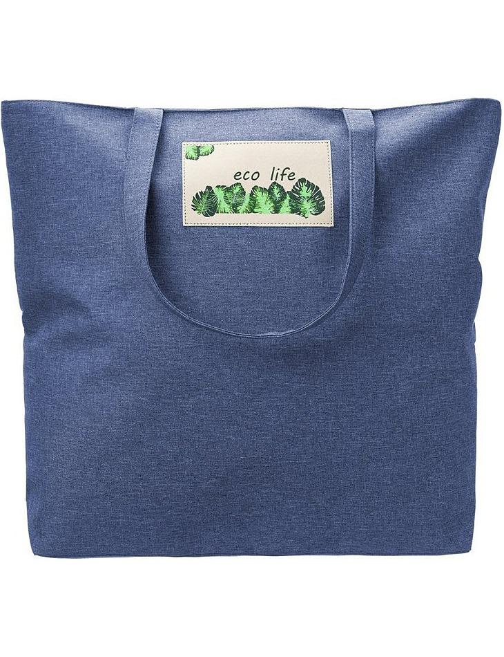 Priestranná modrá nákupná taška vel. ONE SIZE