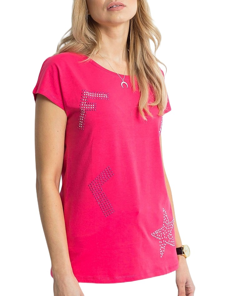 Dámske ružové tričko vel. ONE SIZE