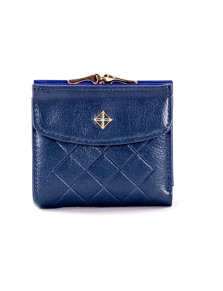Modrá dámska malá peňaženka s logom vel. ONE SIZE