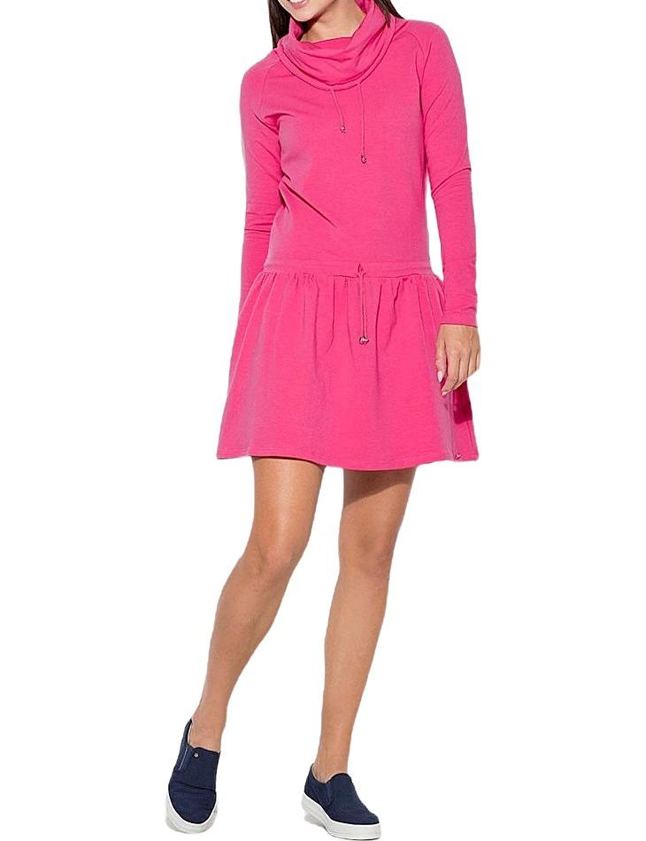 ružové šaty vel. L