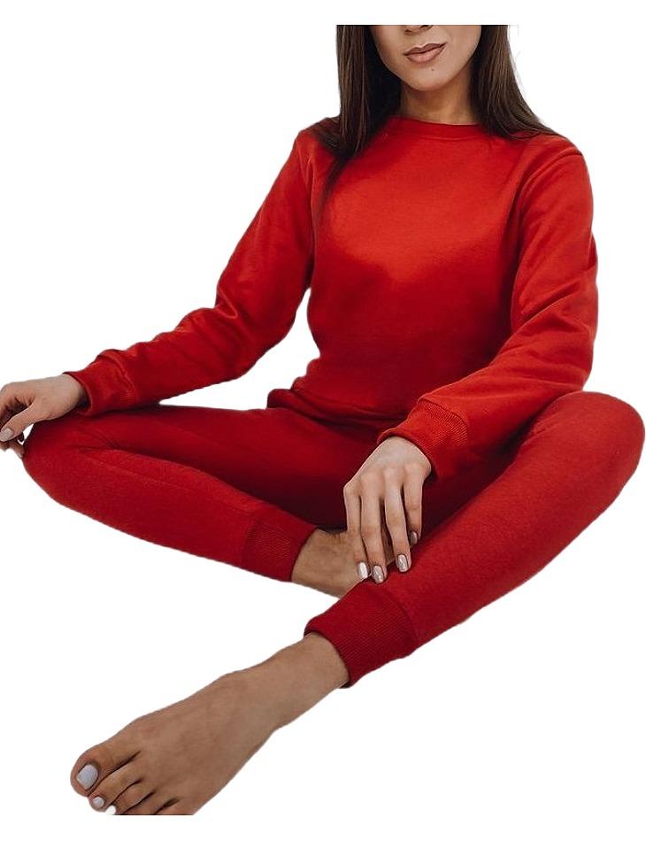 červená dámska mikina vel. XL