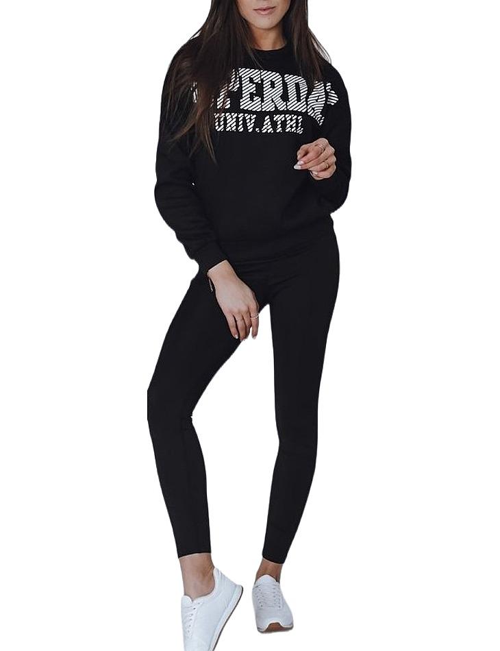 čierna dámska mikina s nápisom superday vel. XL