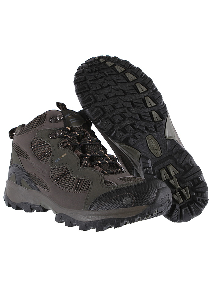 Pánska outdoorová obuv Regatta Crossland Mid  375d7b025f7