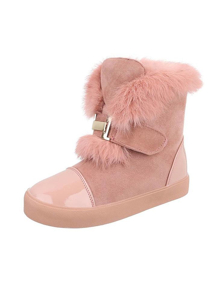 4ed3467de5b6 Dámske vysoké zimné topánky s kožušinou