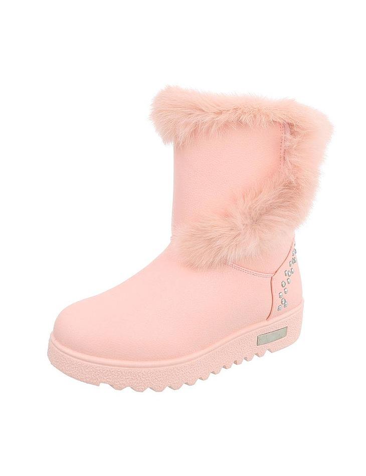 d1bb0c5c6066 Dámske vysoké zimné topánky s kožušinou