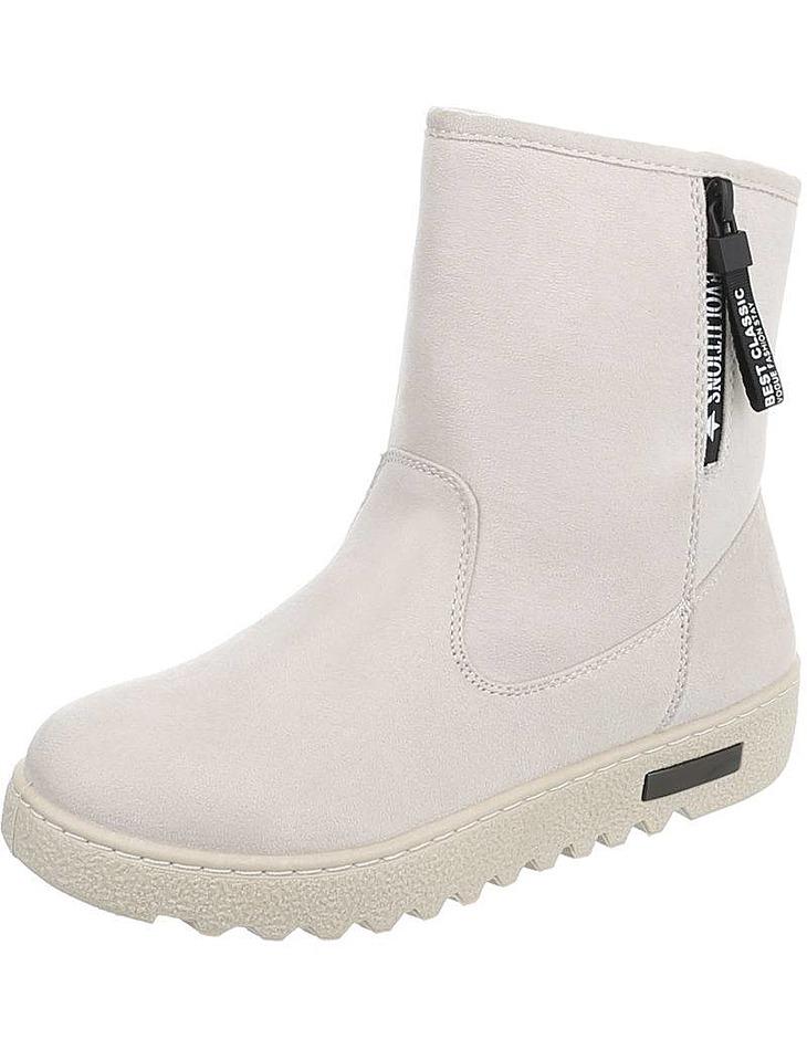 Dámske vysoké zimné topánky  ee4931737ea