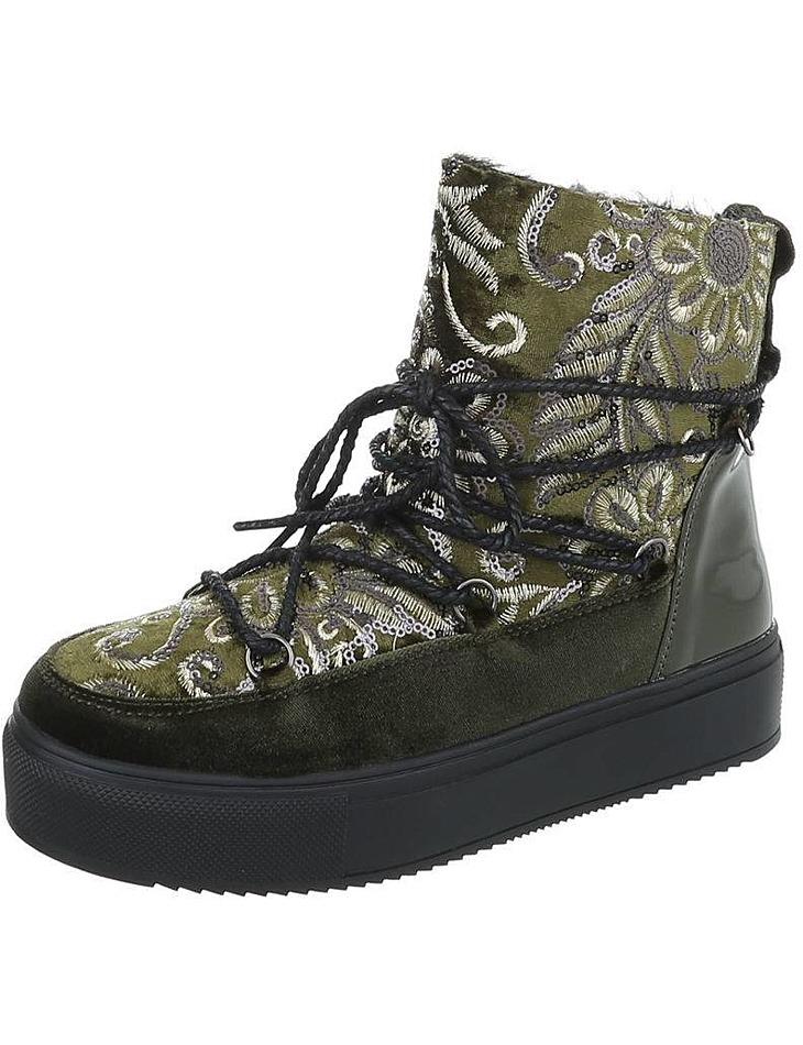 Dámske vysoké zimné topánky vel. EUR 37, UK 4,5
