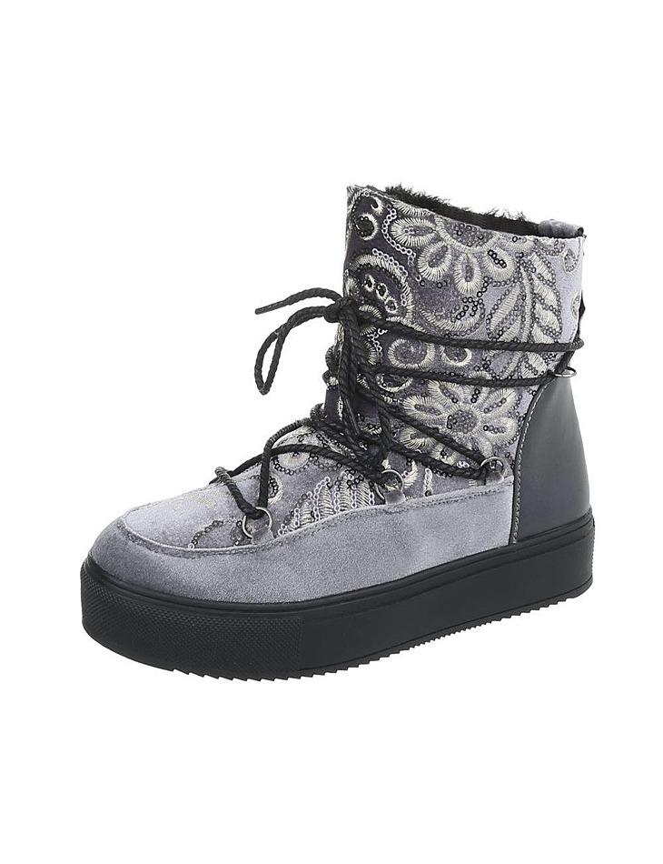Dámske vysoké zimné topánky dc2af871727