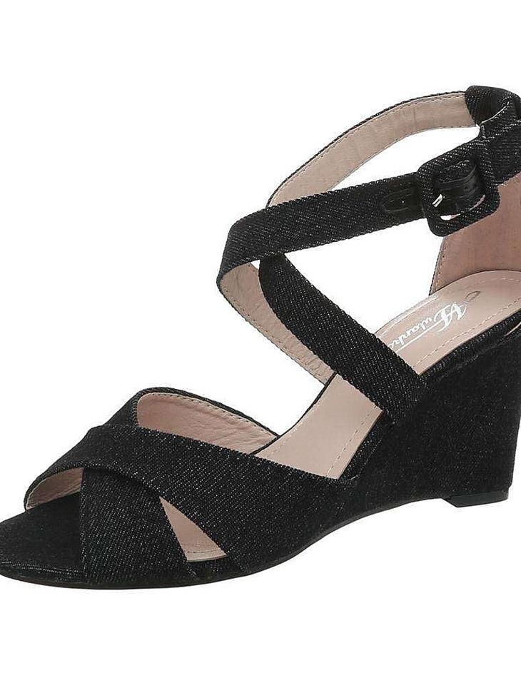 Dámske vysoké sandále vel. EUR 38, UK 5