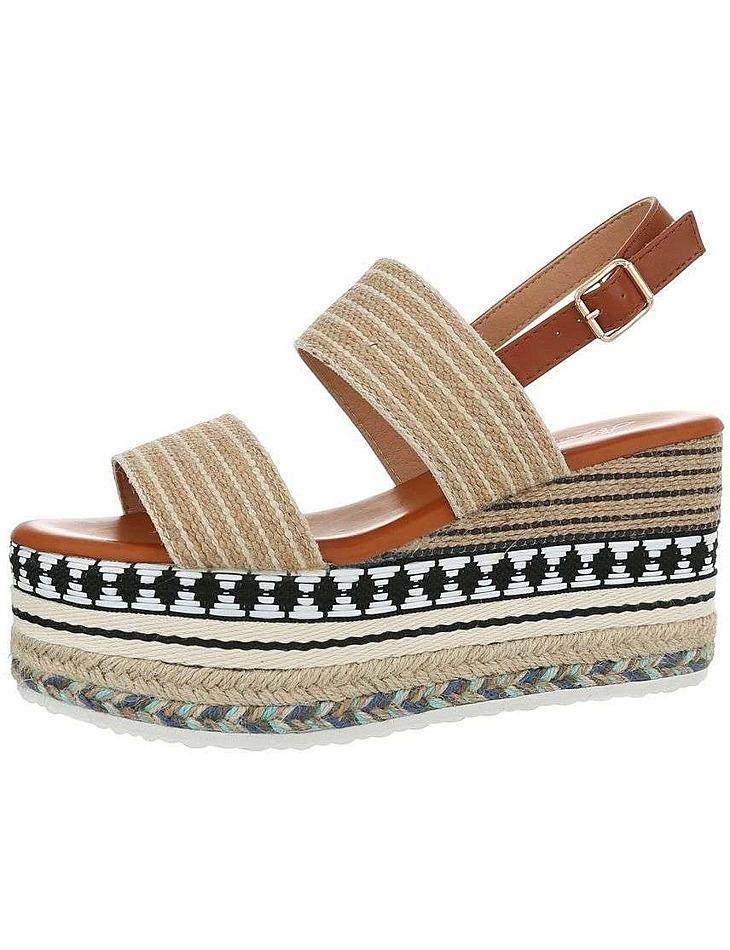 Dámske vysoké sandále vel. 37
