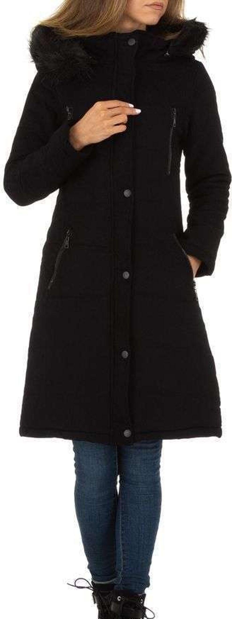 Dámska dlhá zimná bunda vel. S/36